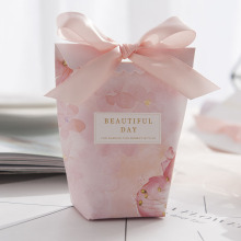 Small fancy gift wedding candy boxes