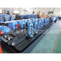 High frequency welding pipe line