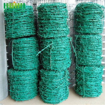 Low Carbon Steel Barbed Wire Mesh Fencing