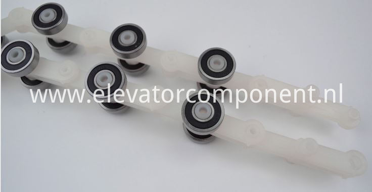 Schindler Escalator Rotary Chain 17 pair rollers Double Fork