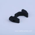 Hot Round Tube Drone Frame Black Anodized Clips
