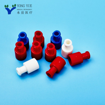 disposable combi-stopper luer lock