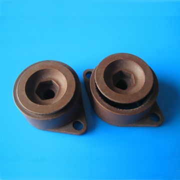 Durable black alumina ceramic blade for coffee mill