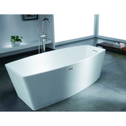 Acrylic rectangle square freestanding bathtub