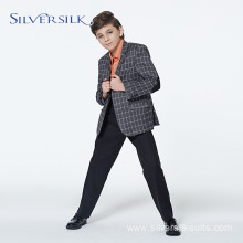 Elegant Tuxedo Suit Set Casual Blazer for Boys
