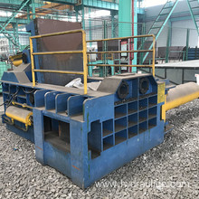 Aluminum Steel Iron Shavings Metal Baler for Recycling