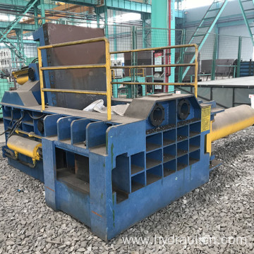 Side Push-out Waste Metal Hydraulic Baling Machine