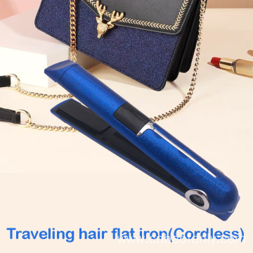 blingbling wireless hair flat iron