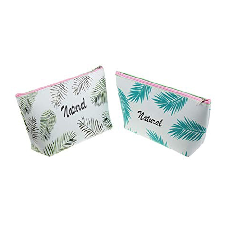 Tropical Leaf Pu Pencil Case 1
