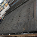 heavy duty composite wear plate with chrome alloy coated