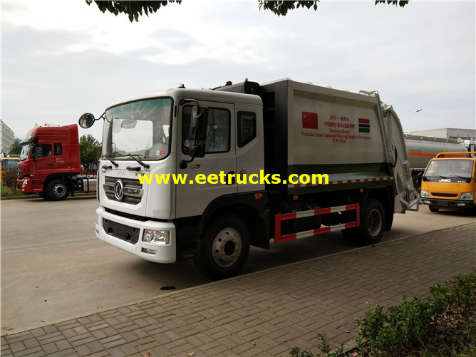 12000 Litres 190hp Waste Compactor Vehicles