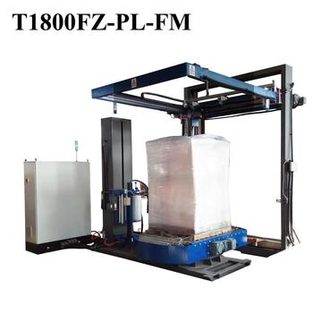 Pallet sheet dispener with wrapping machine