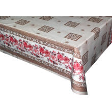 Elegant Tablecloth with Non woven backing Fall