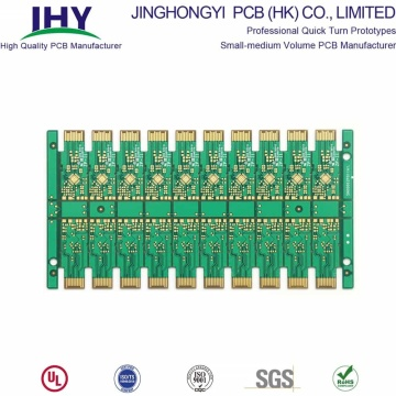Fr4 Material 12 Layer Golden Finger PCB With Plating Gold