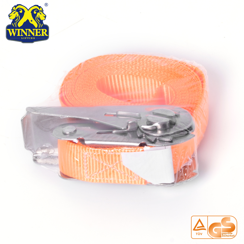 Heavy Duty Buckle Light Ratchet Strap And Cargo Lashing Belt