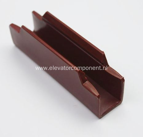 Guide Shoe Insert for Mitsubishi Elevator 10mm 16mm