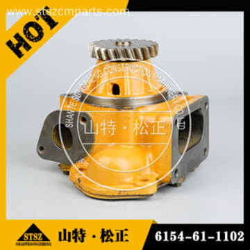 water pump 6136-61-1701 of engine S6D105 excavator parts