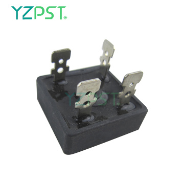 Small volume single-phase rectifier bridge diode module