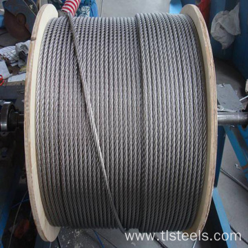 Factory Price 1.5mm Stainless Steel Wire Rope 7*7