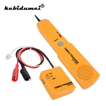 New RJ11 Network Phone Telephone Cable Tester Toner Wire Tracker Tracer Diagnose Tone Line Finder Detector Networking Tools