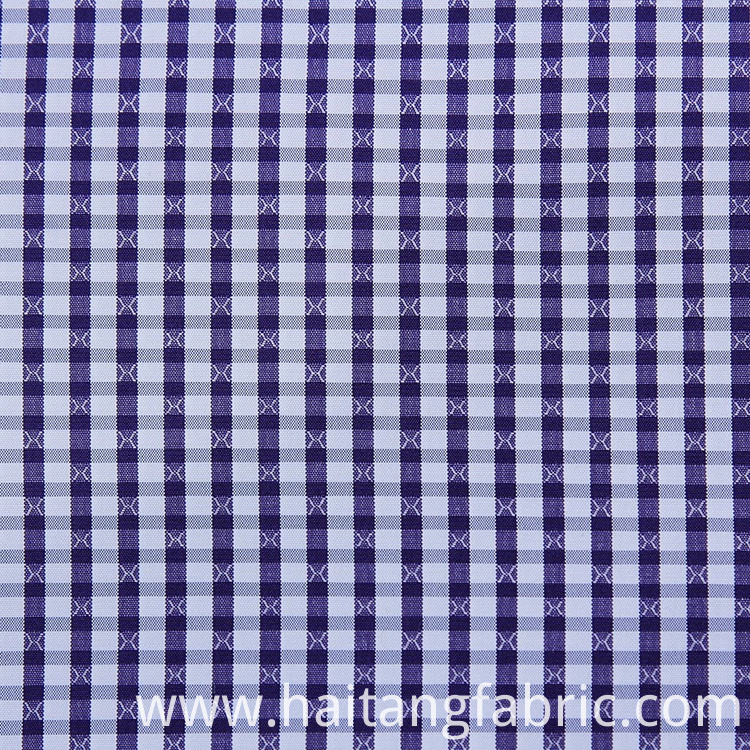 Check Fabric Polyester Fabric