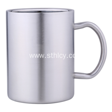 304 Stainless Steel Shatter-resistant Baby Cup With Handle