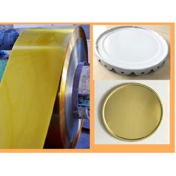 Laminated  TINPLATE for Top and Bottom Lids