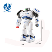 New Product Intelligent RC Dancing Shooting Robot Toys with Light and Sound