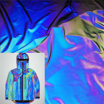 High Visibility Reflective Rainbow Color Changing Jacket