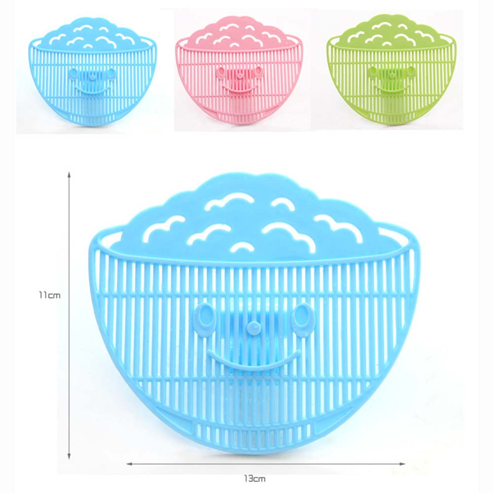 Plastic Wash Rice Is Rice Washing Not To Hurt The Hand Clean Wash Rice Sieve Manual Smile Can Clip Type Manual Tools KC1080