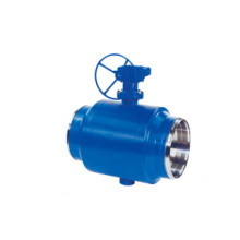 Gear Cast Steel Ball Valve
