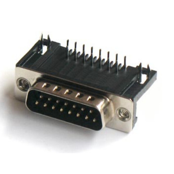D-SUB PCB Male Dual Row Right Angle 8.08mm