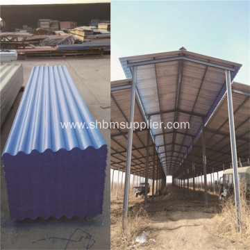Cost-reducing No-asbestos Heat-insulating MgO Roof Sheets