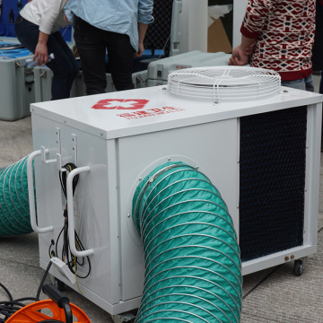 Red Cross Medical Camp air conditioner