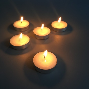Quick Shipment Smokeless Decorative Tea Light Candles