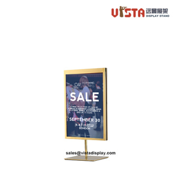 Sign Holder for Counter Double Sided