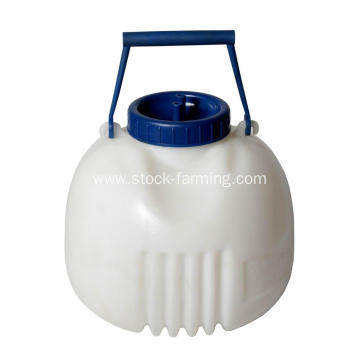 8L Quarter Milker Silicone Pipe With Handle