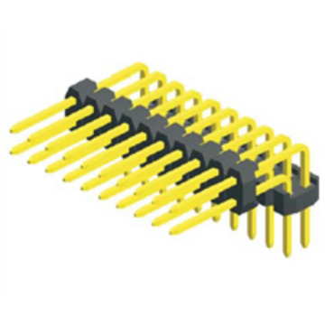 2.00mm Pin Header Dual Row Double Plastic Angle