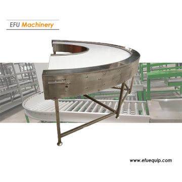 180 Degree Curved Belt COnveyor