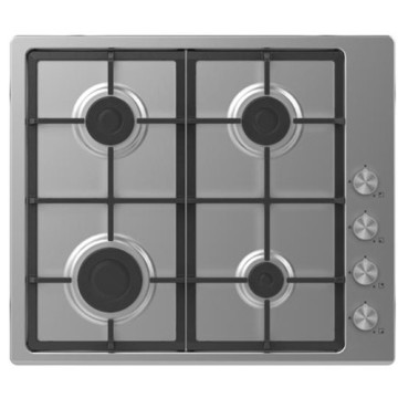 Candy Stove Top Inox Hobs 4 Fire