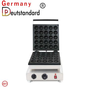 Commercial machine 25 holes mini waffle machine