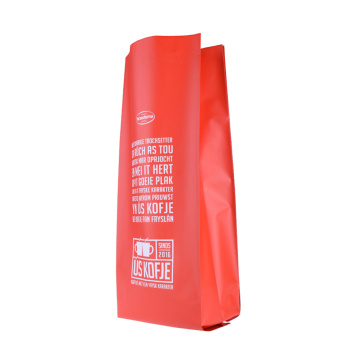 Aluminum Foil Side Gusset Coffee Pouch