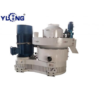 Yulong hardwood pellet making machine for sale