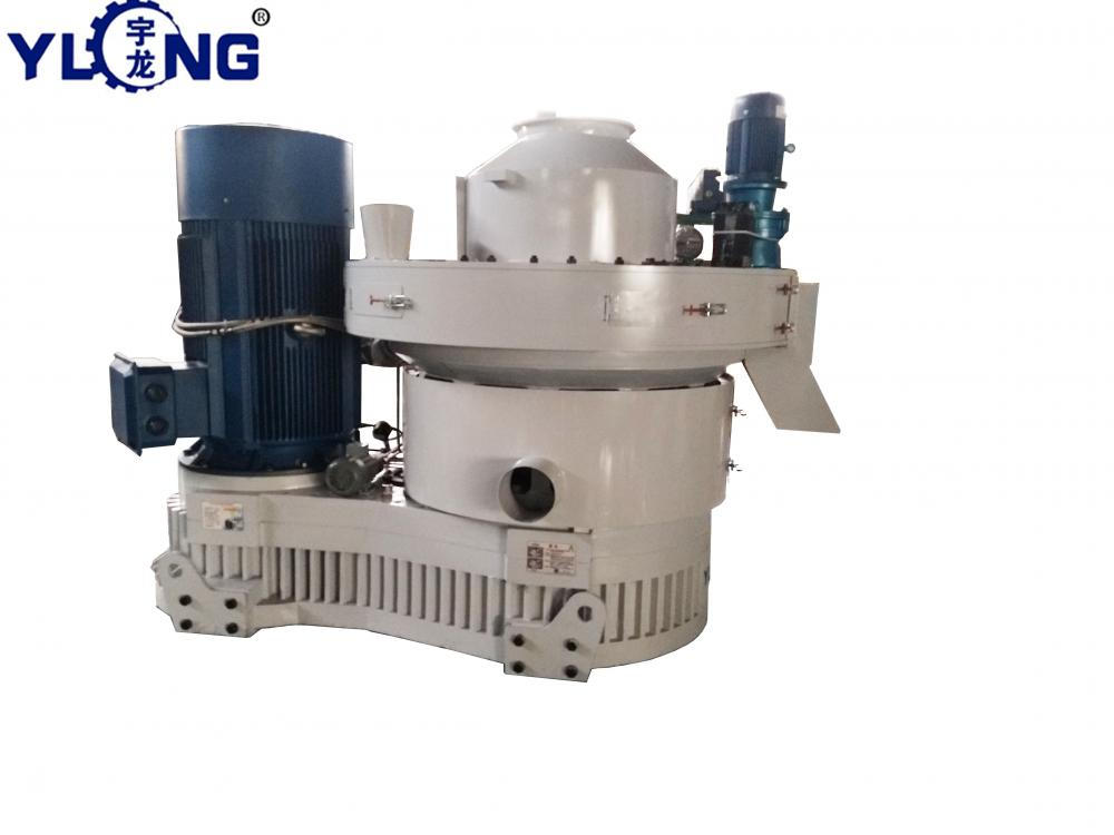 250kw pellet mill machine 3t per hour