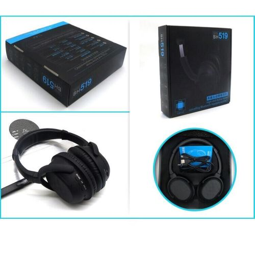 Wireless Headsets Active Noise Cancelling Headphones