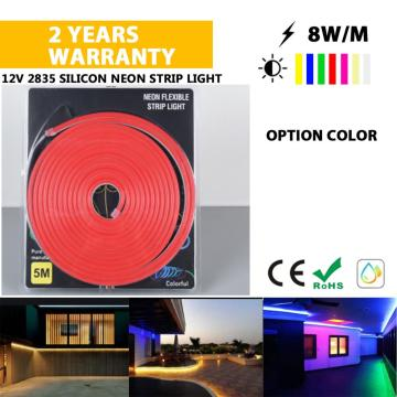 Good quality silicone 24V Neon light