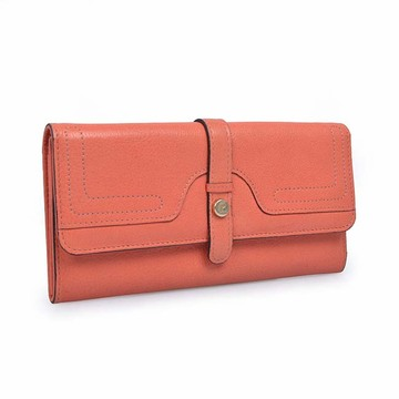 Slim Leather Wallet Ladies Coin Purse Long Wallet