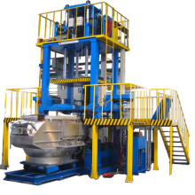 Brass gravity die casting machine