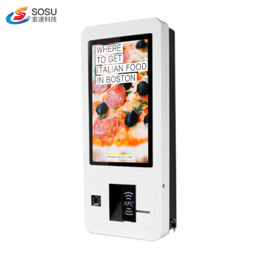 Scanner barcode self order kiosk wholesale