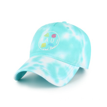 Summer customized colored vintage baseball cap